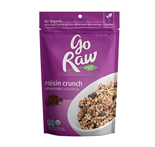 Go Raw 100% Organic Live Granola Cereal, 1 Pound Bags
