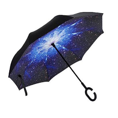 Aweoods-Inverted-Umbrella-Windproof-Reverse-Folding-Double-Layer-Travel-Cars-Umbrella-Starry-Sky