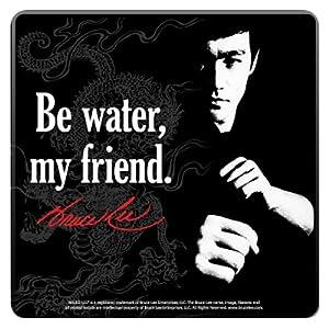 Bruce Lee Wood Coaster Set Of 4 ブルース・リー コースターセット