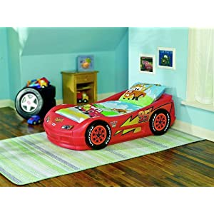 Toddler Car Bed-Red