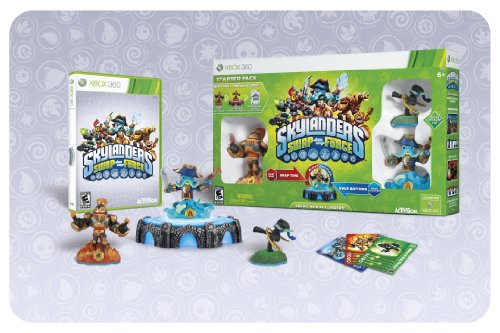 Skylanders SWAP Force Starter Pack includes: Video Game, Portal of Power, 3-Skylanders Figures