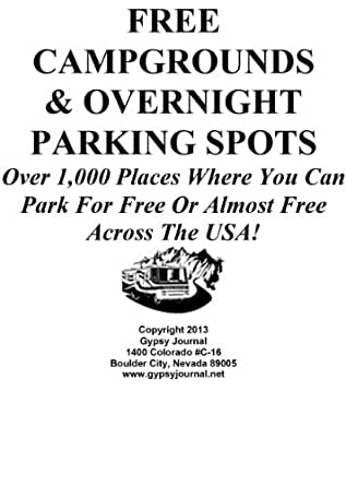 Amazon.com: Guide To Free Campgrounds & Overnight Parking