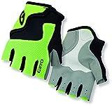 Giro Youth Bravo Junior Gloves, Highlight Yellow/Black, Small