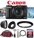 Canon-G1X-Mark-II-w-Canon-FA-DC58C-58mm-Filter-Adapter-Wide-Angle-and-Telephoto-Lens-Set-32GB-Deluxe-Kit
