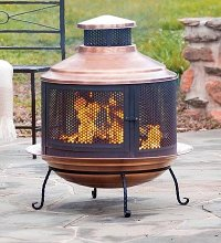 28 Octagon Fire Pit Ring Set Only (Elk Head)   Outdoor ...