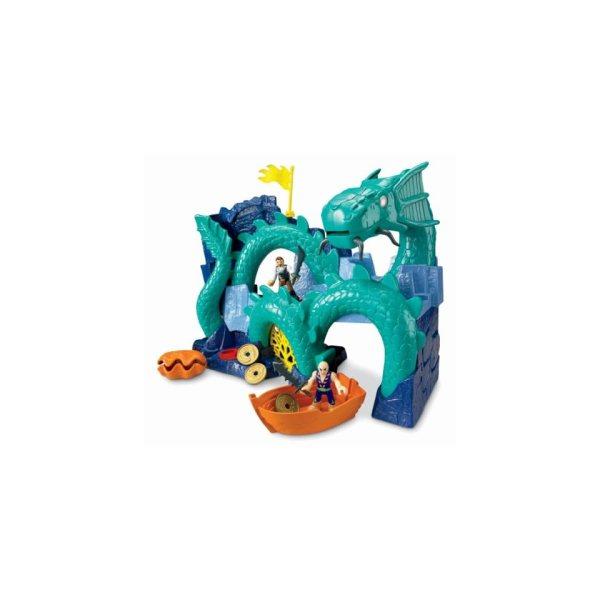 Fisher Imaginext Sea Dragon Island Popscreen