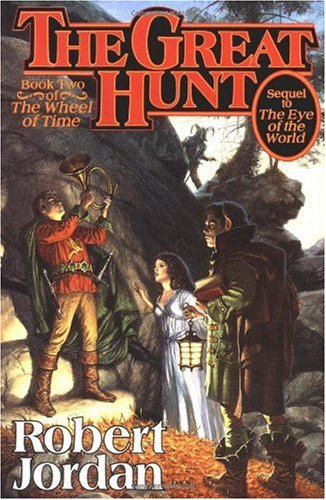"Cover of ""The Great Hunt (The Wheel of Ti..."