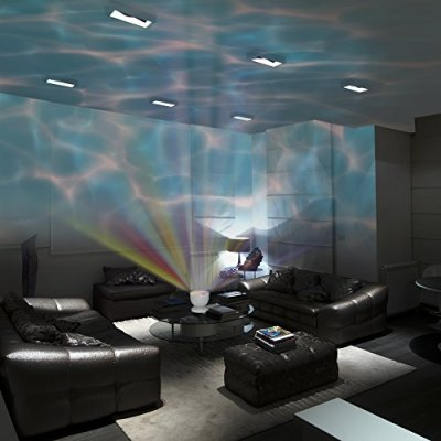 Gideon-DreamWave-Soothing-Ocean-Wave-Projector-LED-Night-Light-with-Built-in-Stereo-Speakers-12-LED-Bulbs-3-Colors-Water-Wave-LED-Ceiling-Projector-for-Children-Connects-with-Any-Audio-Device