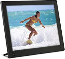 Latest Model - NIX 12 inch Hi-Res Digital Photo Frame with Motion Sensor & 4GB Memory - X12C