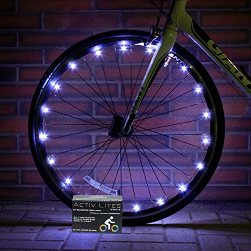 Super Cool White LED Bike Wheel & Frame Lights