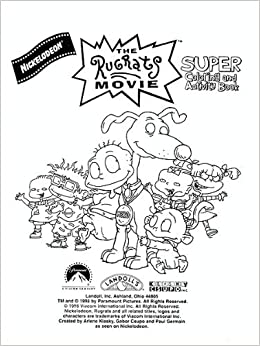 The Rugrats Movie : Super Coloring & Activity Book