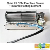 Amazon.com - BBQ factory Replacement Fireplace Fan Blower ...