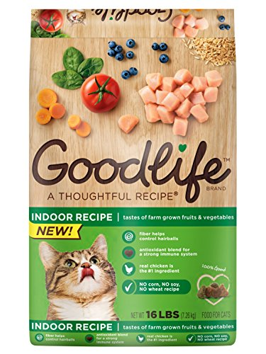 GOODLIFE Dry Food for Cats Indoor Recipe
