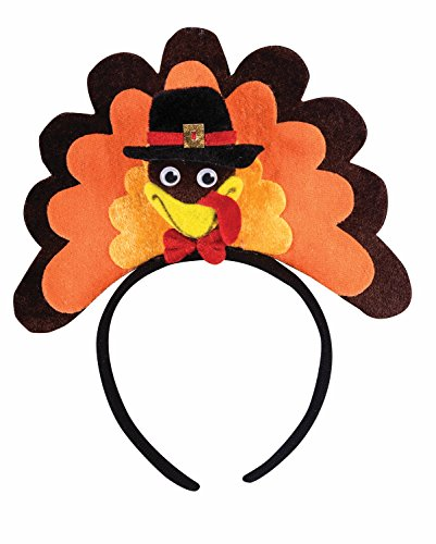 Forum Men's Novelty Turkey Headband, Multi, One Size