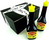 Maggi Seasoning Sauce, 3.38 oz Bottles in a Gift Box (Pack of 2)