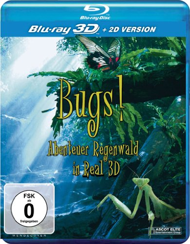 Bugs! Abenteuer Regenwald in Real 3D [3D Blu-ray]