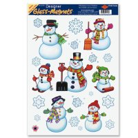Christmas Window Cling Decorations