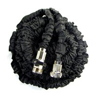 Black 50FT Expandable Garden Hose Shrinking Flexible Magic ...