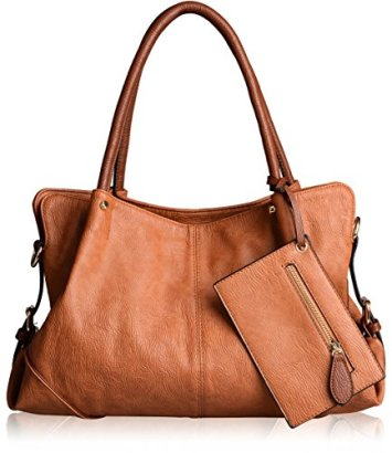 AB-Earth-Leatherette-Women-Tote-Top-Handle-Shoulder-Handbags-Crossbody-Bag-M898