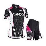 Nuckily Women's Cycling Jersey Outdoor Shorts Qucik Dry