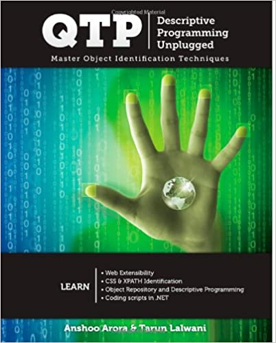 QTP Descriptive Programming Unplugged: Master Object Identification Techniques