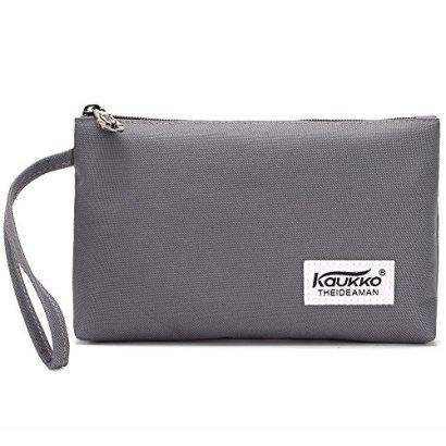 KAUKKO-Womens-Classic-Fashion-Handbag-for-GirlsTeensStudents-Grey