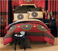 Unique Bedding Comforter - Asian Design Good Fortune ...