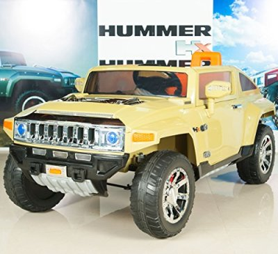 Hummer-HX-Kids-Ride-On-TruckCar-12V-Electric-Powered-Wheels-with-RC-Remote-Control-Olive