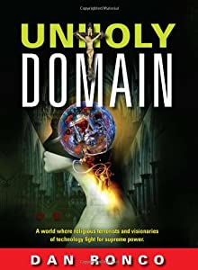 """Cover of """"Unholy Domain"""""""