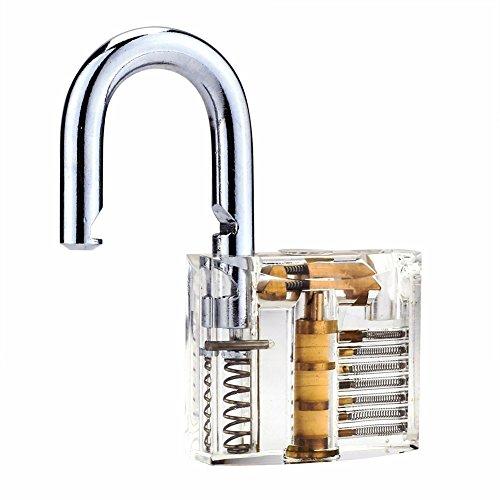 11-Piece-Practice-Lock-Set-Unlocking-Lock-Pick-Set