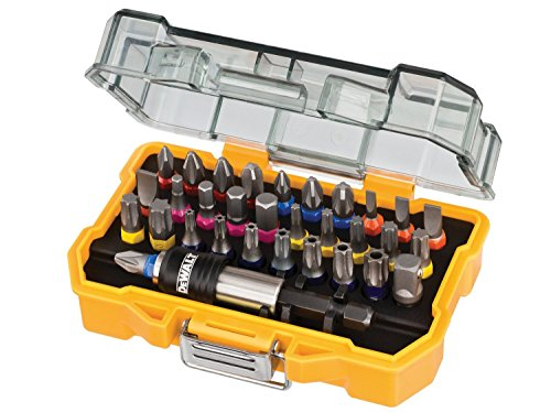 51lxuRvXsPL - BEST BUY #1 DeWalt 32 Piece XR Professional Magnetic Screwdriver Bit Accessory Set