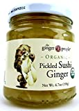 The Ginger People Organic Pickled Sushi Ginger, 6.70 oz Jar Frustration Free Packaging
