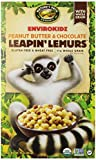 Envirokidz Organic Leapin' Lemurs Peanut Butter & Chocolate Cereal, 10-Ounce Boxes (Pack of 6)