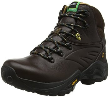 Hi-Tec V-Lite Flash Hike I Waterproof, Men High Rise Hiking Shoes, Brown (Chocolate/Core Gold 041), 10 UK (44 EU)