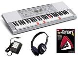 Casio LK-280 Keyboard BONUS PAK w/ Headphones & Piano Lesson Book/CD