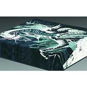 Amazoncom Trademark Acrylic Mink Dragon Blanket Bed