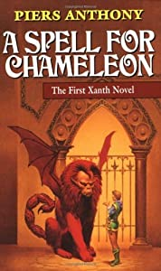"Cover of ""A Spell for Chameleon (Xanth, B..."