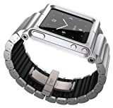Lunatik LKSLV-010 Lynk Watch Wrist Strap for iPod Nano 6G - Silver