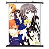 """Fruits Basket Anime Fabric Wall Scroll Poster (16"""" x 22"""") Inches. [WP]-Fruits Basket-67"""