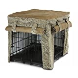 Snoozer Cabana Pet Crate Cover, X-Large, Sicilly/Coffee