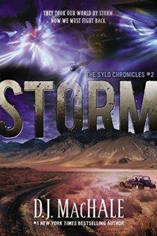 Storm: The SYLO Chronicles #2 by D.J. MacHale| wearewordnerds.com