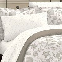 Discoveries Deep Sea Ocean Seashell Bedding Comforter Set