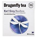 (2 Pack) - Dragonfly Tea - Earl Grey Rooibos Tea   40 Bag   2 PACK BUNDLE