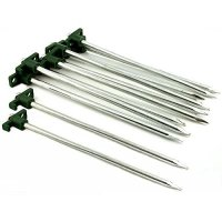 HTS 224T1 12 Camping Tent Spikes Lawn Gardening Tree Stake ...