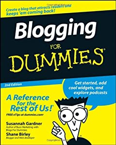 "Cover of ""Blogging For Dummies (For Dummi..."