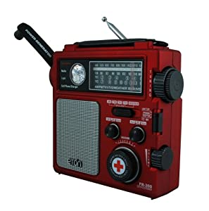 Amazoncom American Red Cross FR300 Emergency Radio Red