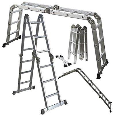 OxGord-Aluminum-Folding-Scaffold-Multi-Purpose-Ladder-125-Feet-350-lb