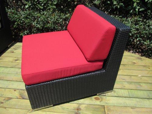 Ohana 9-Piece Outdoor Wicker Patio Furniture Sectional