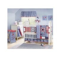 Bananafish Country Cottage Crib Bedding and Decor