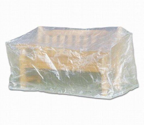 Profiline 454729 Schutzhülle Abdeckung für Bank Gartenbank 160cm transparent